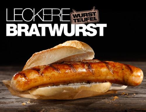 Leckere Bratwurst